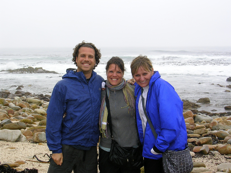 Dealing with the weather on the Cape of Good Hope- South Africa