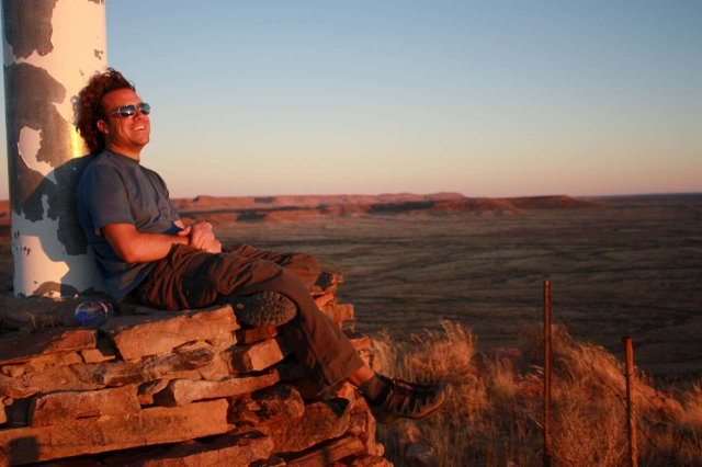 Yet another sunset on the Backpacker\'s Trail- Namibia