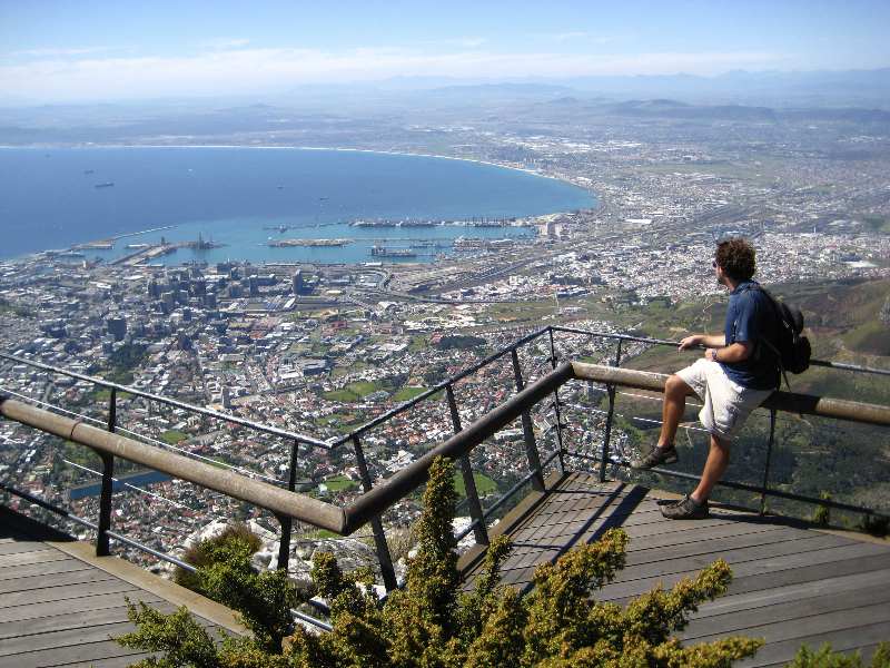 Table Mountain Lookout- Cape Town, South Africa