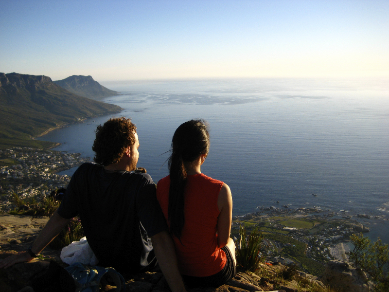 Just another sunset along the Backpacker\'s Trail- Lion\'s Head, Cape Town, South Africa