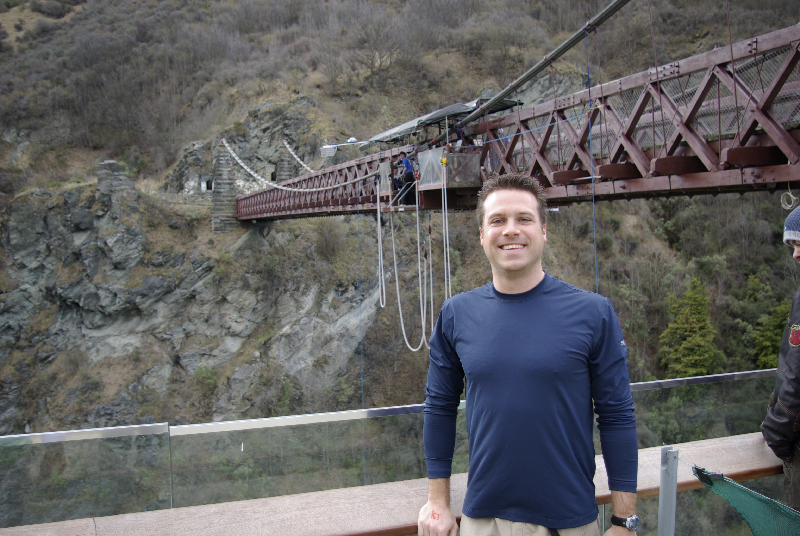 Time to take on the Kawarau Bridge Bungy Jump- Queenstown, New Zealand