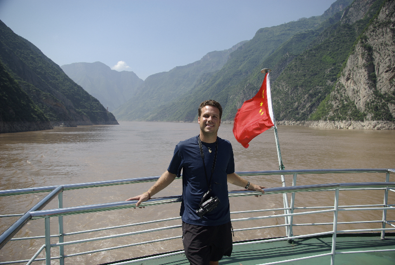 Sailing through the Three Gorges on the Yangtze River- China