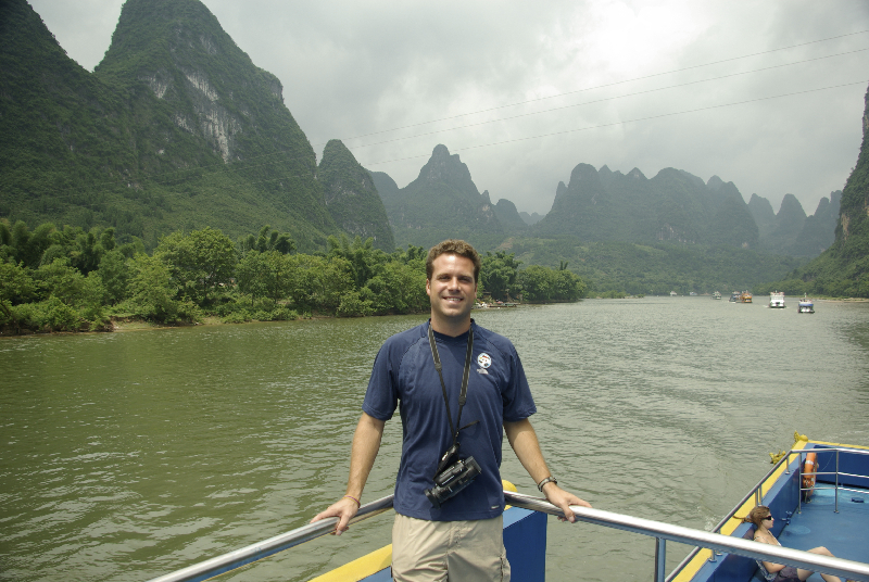 Cruising the Li River- Guilin, China