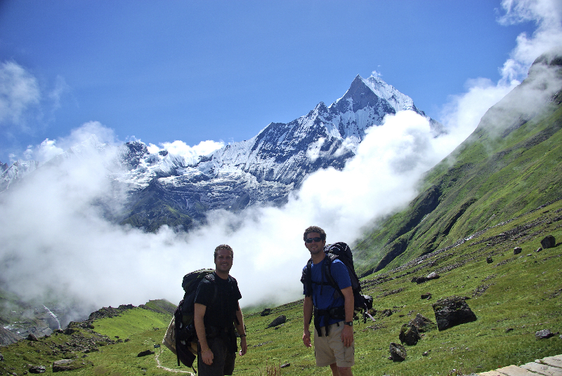 Macchapucchre, The Sacred Mountain- Nepal