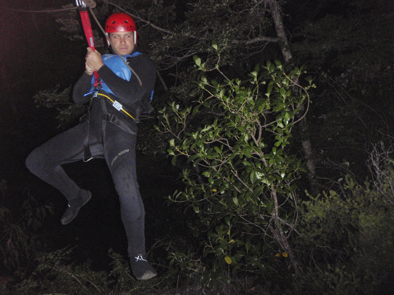 Full-Moon Canyoning- Queenstown, New Zealand. Yes, I\'m a bit crazy...