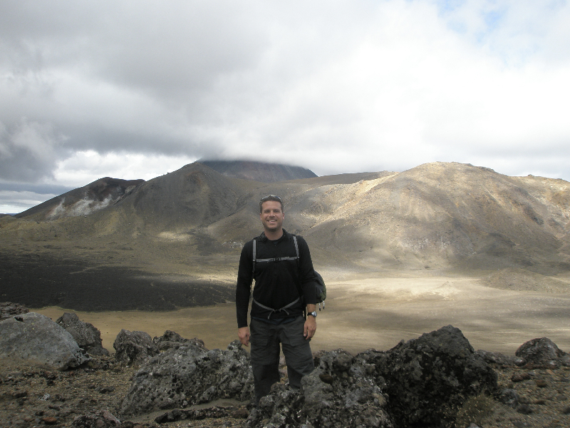 On the Tongariro Crossing- Taupo, New Zealand