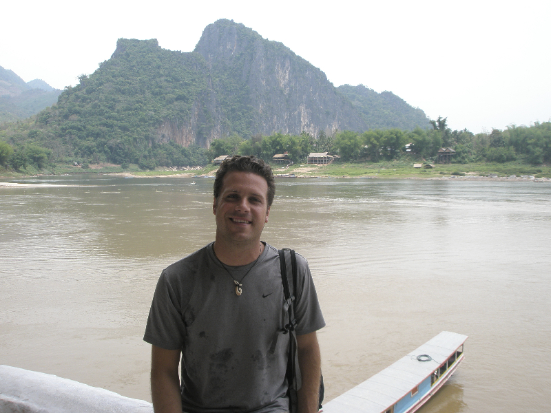 Cruise along the Mekong River- Luang Prabang, Laos