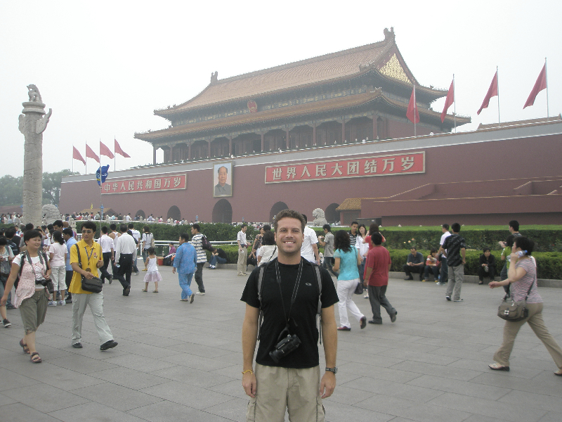 Heading into the Forbidden City- Beijing, China
