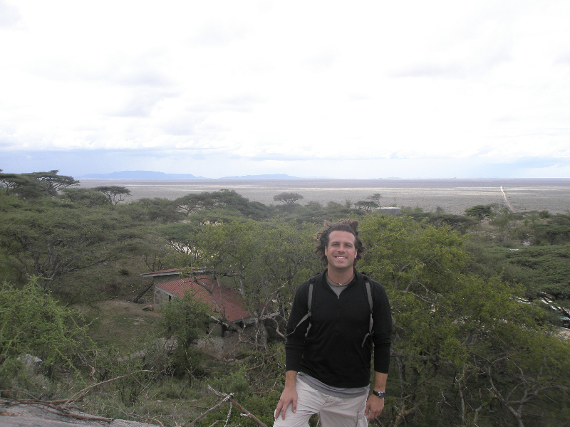Heading down into the Serengeti Plain- Tanzania