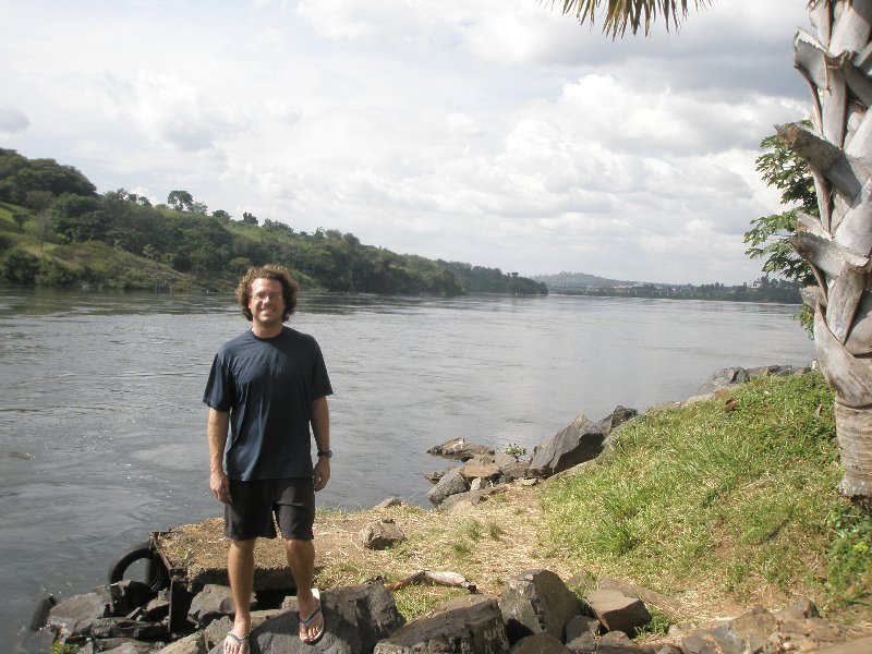 At the source of the Nile- Lake Victoria- Jinja, Uganda