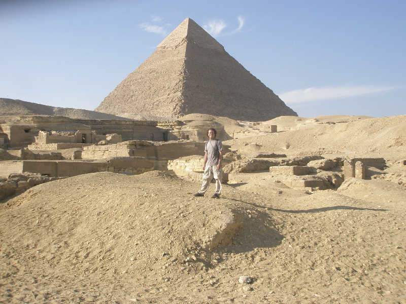 The Great Pyramid- Giza, Egypt