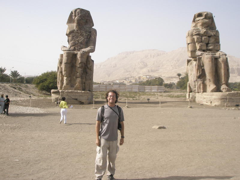 The Colossi of Memnon- West Bank, Luxor, Egypt