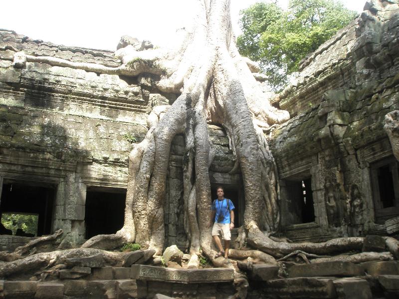 Ta Prohm Temple, Angkor Wat Complex- Siem Reap, Nepal