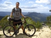 Mountain biking in the Blue Mountains- Katoomba, Australia