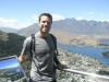 What a view! Taking in the Wakatipu Basin from high above Queesntown