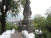 A Buddhist shrine in the mountains near Luang Prabang- Laos