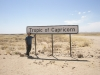 Crossing the Tropic of Capricorn- Namibia