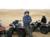 Quad biking across massive sand dunes in the Namib Desert- Swakopmund, Namibia