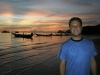 Just another blah-blah sunset on Ko Phi Phi