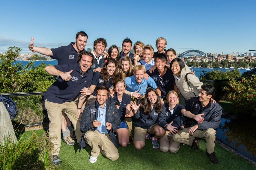 The BestJobs Crew at Taronga Zoo